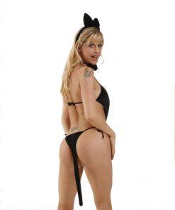 Fantasia Loba 5 Peças Aline Lingerie