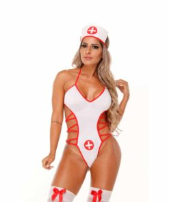 Fantasia Enfermeira Body Trançado