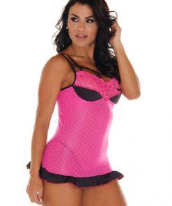 Camisola sensual Rosa Luiza - Aline Lingerie