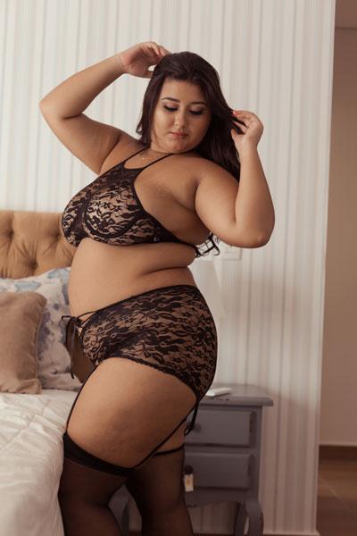 Conjunto lingerie de Renda Charlô tamanho GG
