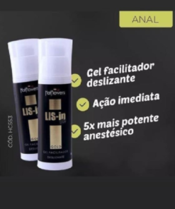 Lis-In Gold Gel Facilitador Anal