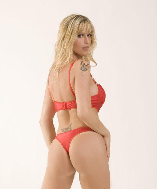 Body joia com strass - Aline lingerie