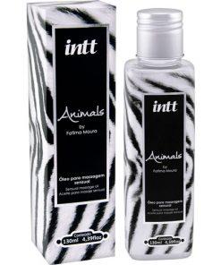 O Animals – Óleo para massagem Intt foi desenvolvido com propriedades antioxidantes, óleo de amêndoas, que além de serem ricos em vitamina E, deslizam suavemente pelo corpo, permitindo sensações prazerosas.