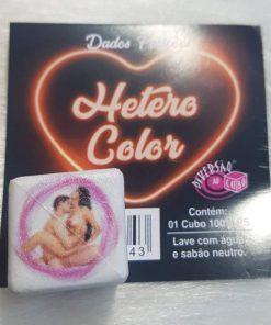 Dado Hetero Color com foto de Posições