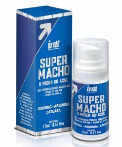 Super Macho o poder do azul - Potencializador de Ereção - Intt