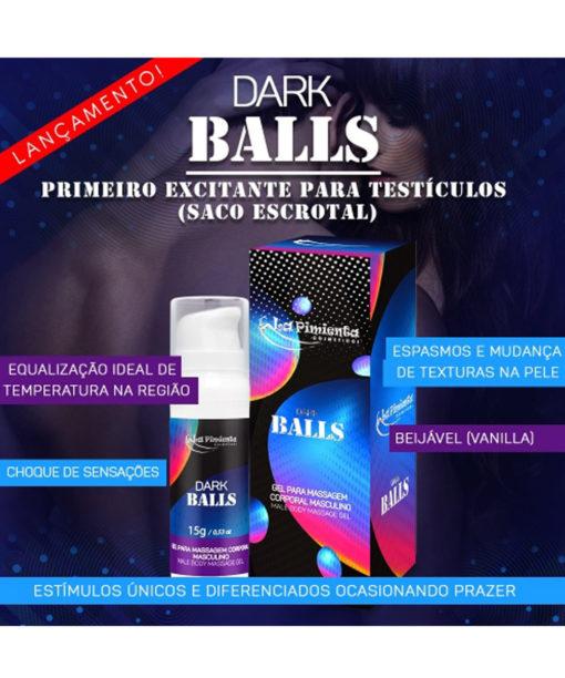 Dark Balls Primeiro excitante para testículos (saco escrotal) - La pimienta