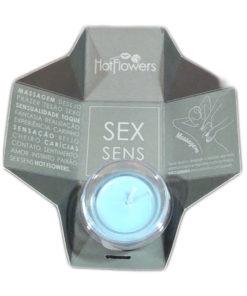 O seu poder pessoal de atração muito mais potente, com a Vela Aromática Sex Sens para massagem - Hot Flowers sua massagem vai ficar muito mais especial e a pele vai ficar com um toque suave e macio