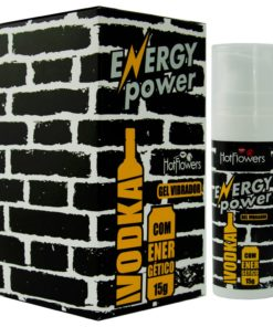 Energy Power - Gel Vibrador Vodka com energético