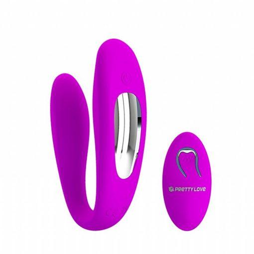 Vibrador para Casal Letitia com Controle Remoto - Pretty Love