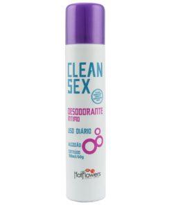 Clean Sex - Desodorante Íntimo 100ml Hot Flowers