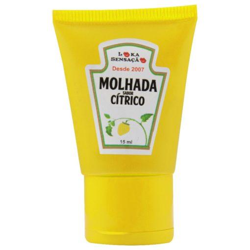 Molhada Cítrico - Bala Gel 15ml Loka Sensação