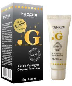 Ponto G Black - Excitante Feminino Extra Forte 10g Pessini