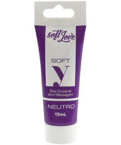Soft Y - Lubrificante Íntimo 15ml Soft Love