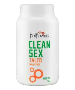 Clean Sex - Talco para toys 40g Hot flowers