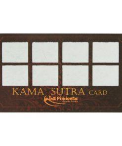 Raspadinha Kama Sutra Card 5 unidades - La Pimienta