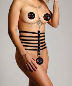 Cinturão Feminino em couro sintético