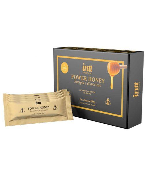O Power Honey Melzinho do amor Estimulante Unissex- Intt vai te dar energia, disposição e um melhor desempenho sexual